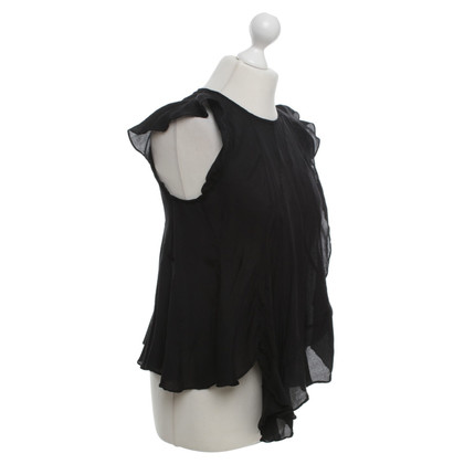 Isabel Marant Silk blouse in black