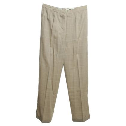 Rena Lange Pants with plaid pattern