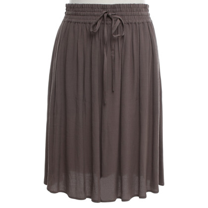 Closed skirt in khaki
