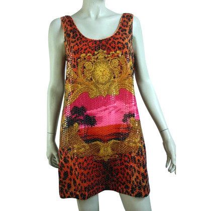 Versace for H&M Mini dress with sequins trim