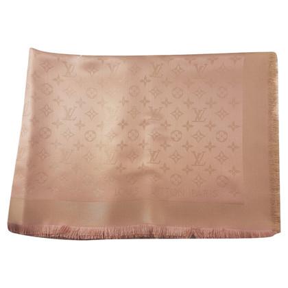 Louis Vuitton Monogram Shine cloth in pink