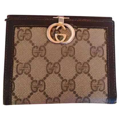 Gucci Portemonnee met Guccissima patroon