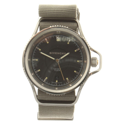 "Givenchy Watch ""Seventeen"" in grey"