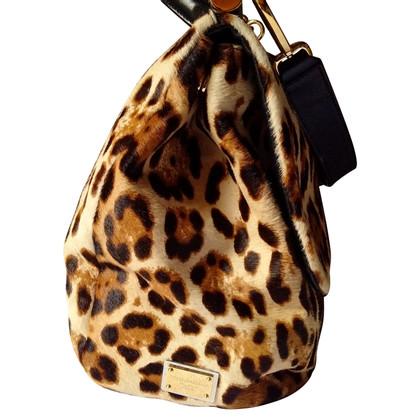Dolce & Gabbana Pony fur handbag