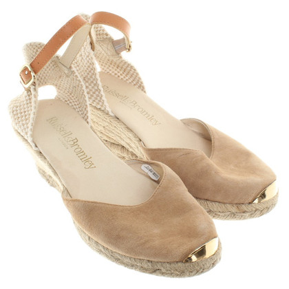 Russell & Bromley Espadrilles in beige