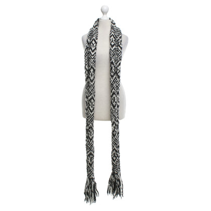 Isabel Marant Scarf in black and white