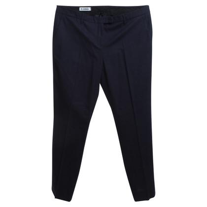Jil Sander trousers in blue