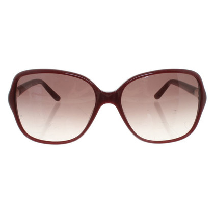 Max Mara Sonnenbrille in Bordeaux