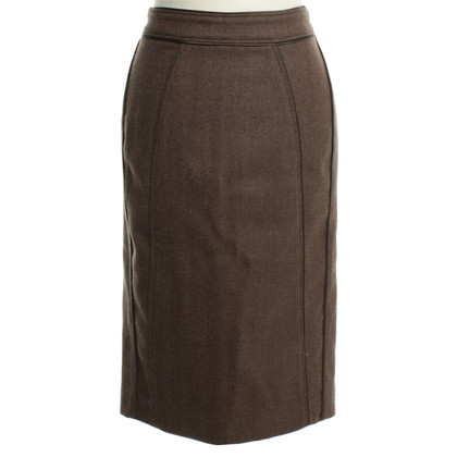 Burberry Pencil skirt in Brown