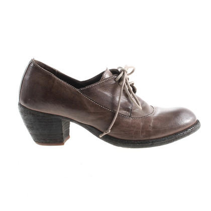 Officine Creative Brown lace-up shoes