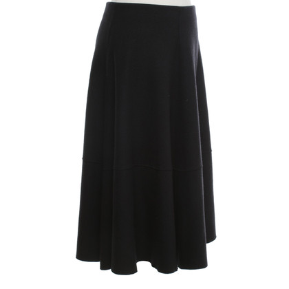 Marc Cain Woll-skirt in dark blue