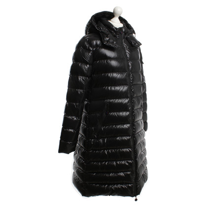 "Moncler ""Moka"" in black down coat"