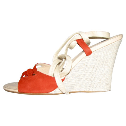 Tod's Wedges in red