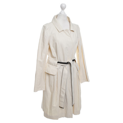 Paule Ka Coat in cream (can also be worn as a dress)