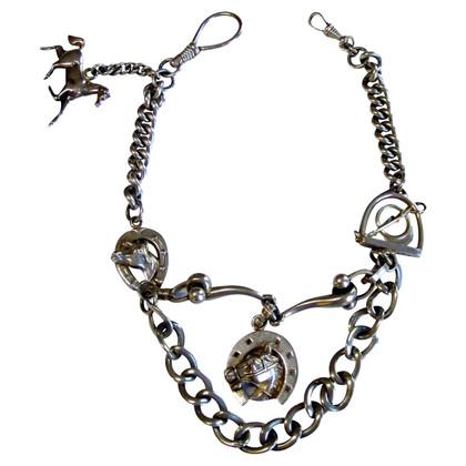 Hermès Uitstekende zilveren ketting