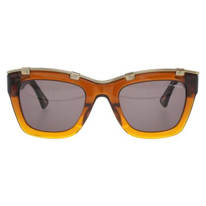 Lanvin Occhiali da sole in marrone