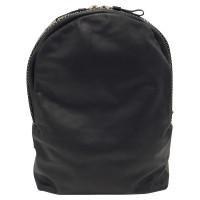 Alexander McQueen Black studded backpack