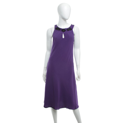 Hobbs Silk dress in purple
