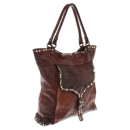 Campomaggi Handbag with rivet cover