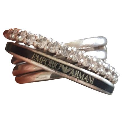 Armani silver ring