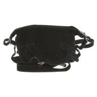 Vivienne Westwood Handbag Suede Black
