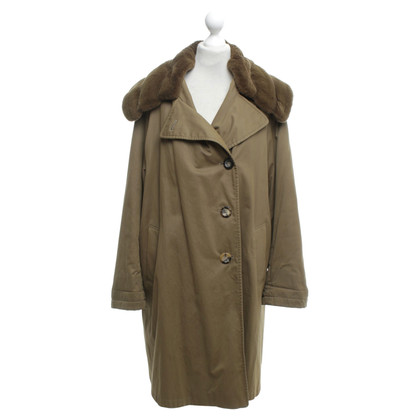 Jil Sander Coat with real fur trim