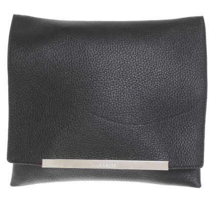 Jil Sander clutch in black
