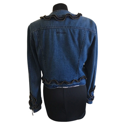 Moschino giacca jeans