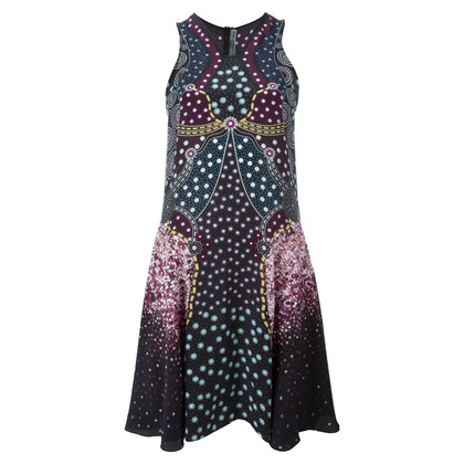 Mary Katrantzou Seidenkleid mit Muster
