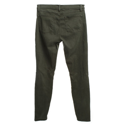 J Brand Pantalon en vert foncé