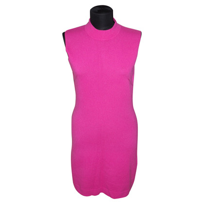 Allude Cashmere knit dress in pink