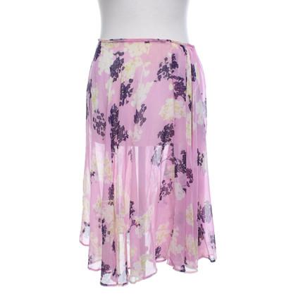 Dries van Noten skirt with floral print