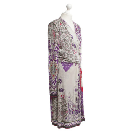 Etro Dress with large-area pattern