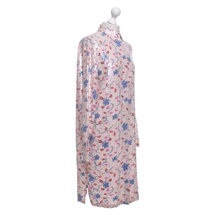 Emilio Pucci Hemdblusenkleid mit Pailletten
