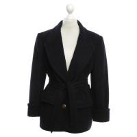 Hermès Cashmere coat in dark blue