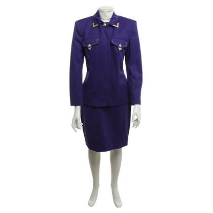 Versace Kostüm in Violett