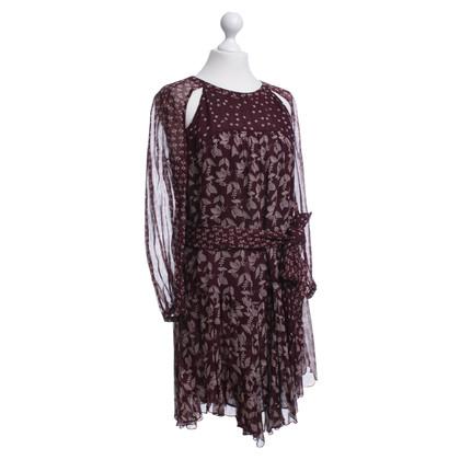 Isabel Marant Etoile Vestito con un motivo floreale