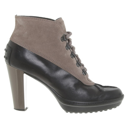 Tod's Ankle boots in brown / grey
