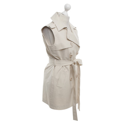 Elisabetta Franchi Vest in Cream