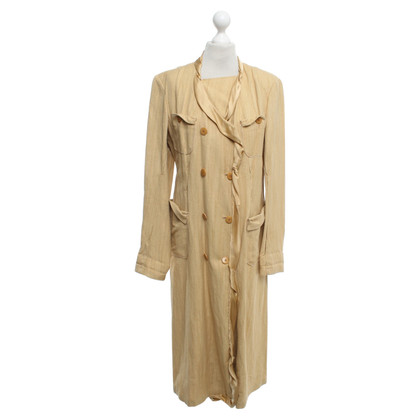 Donna Karan Cappotto in seta / lino