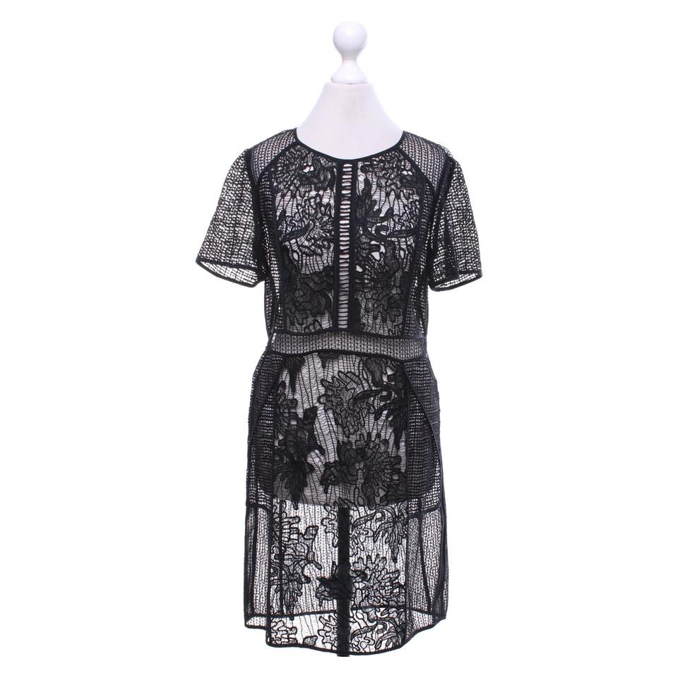 Rebecca taylor robe en dentelle noire acheter rebecca for Rebecca robe mariage taylor