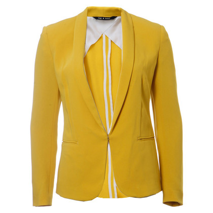 Rag & Bone mustard coloured blazer