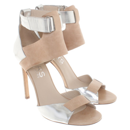 Michael Kors Sandals in silver nude