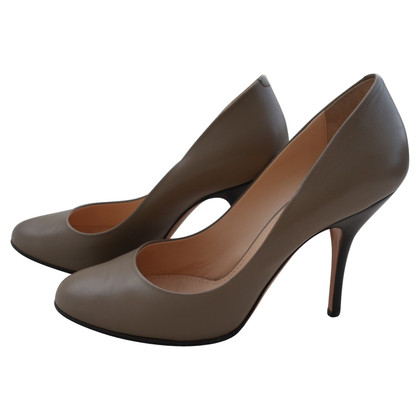 Bally Leather-pumps in green