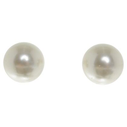 Christian Dior Studs with pearls