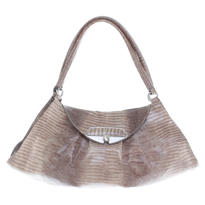 Furla Handbag in reptile finish