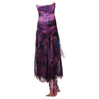 Matthew Williamson Buntes Kleid mit Schleife