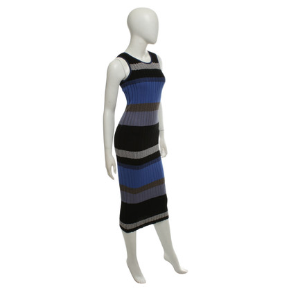 Pinko Knit dress with block stripes