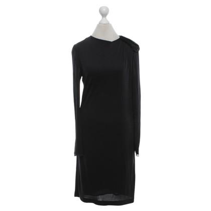 Jasmine di Milo Zijden jurk in zwart