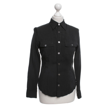 Equipment Pinstripe blouse